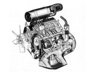Capot de moteur Peugeot 504