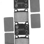 Plaquettes de frein Volvo 940
