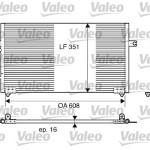 Condenseur Volvo V40