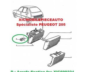 Feux antibrouillard Peugeot J9