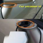 Rétroviseur extérieur Toyota Corolla Verso