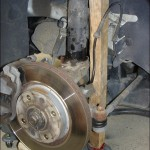 Ressort d'amortisseur Ford B-max