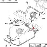 Tuyau de refroidissement Peugeot 107