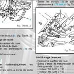 Arbre de cardan Citroën Xsara Picasso