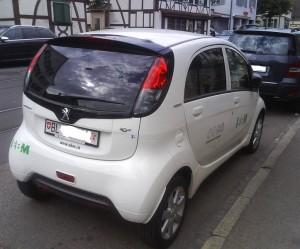Filtre habitacle Peugeot Ion