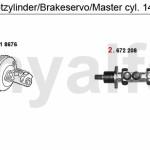 Maître-cylindre Alfa Romeo 145