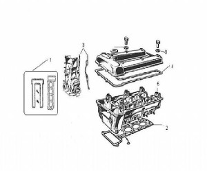 Pompe à huile Alfa Romeo Gtv