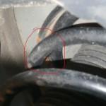 Ressort d'amortisseur Peugeot 407