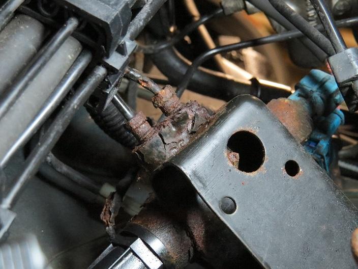 Tuyau de frein Citroën Cx