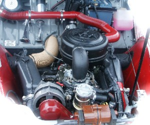 Tuyau de refroidissement Citroën 2 Cv