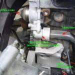 Tuyaux de liquide de refroidissement Renault Spider