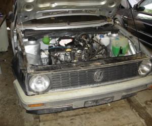 Tuyaux de liquide de refroidissement Volkswagen Derby