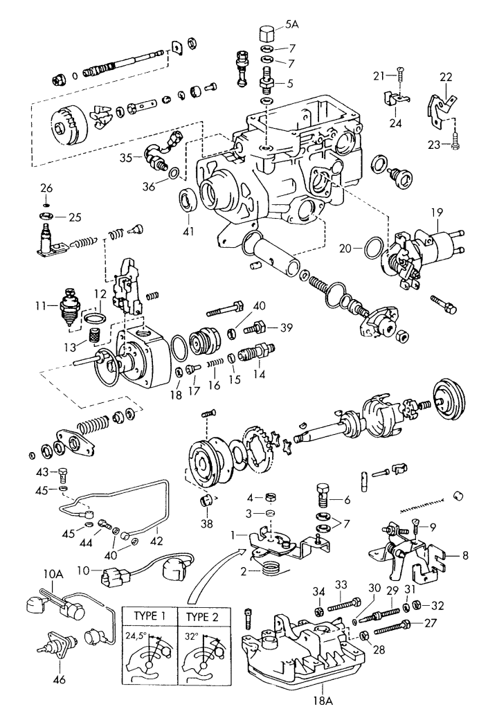Valve d'injection Volkswagen Taro